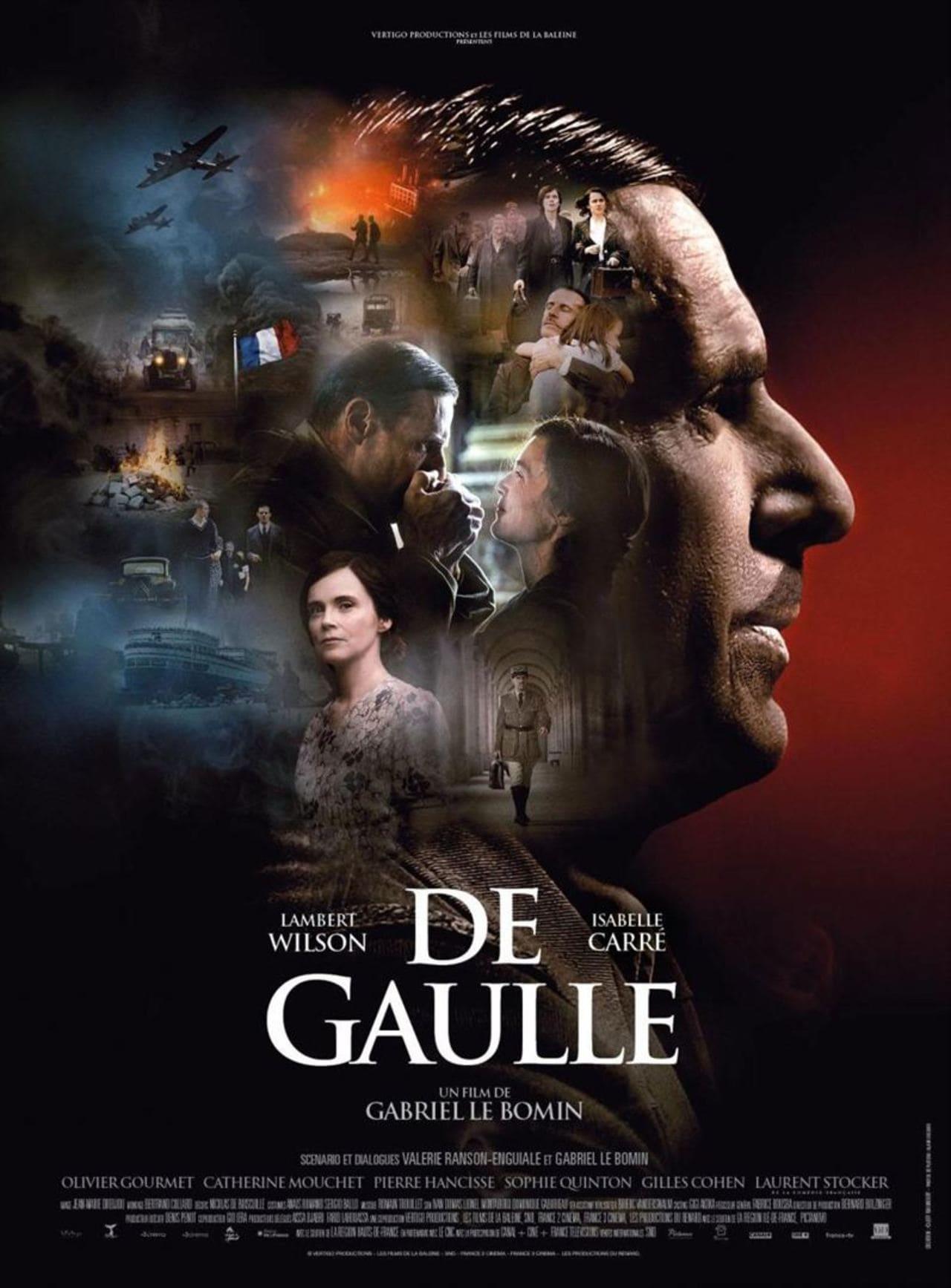 Cartel de la película de De Gaulle (2020)