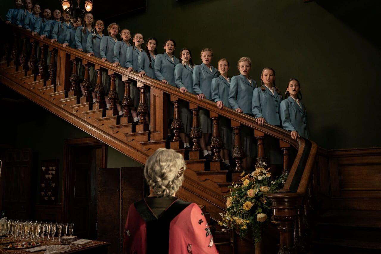 Escena de la película Las hijas del Reich