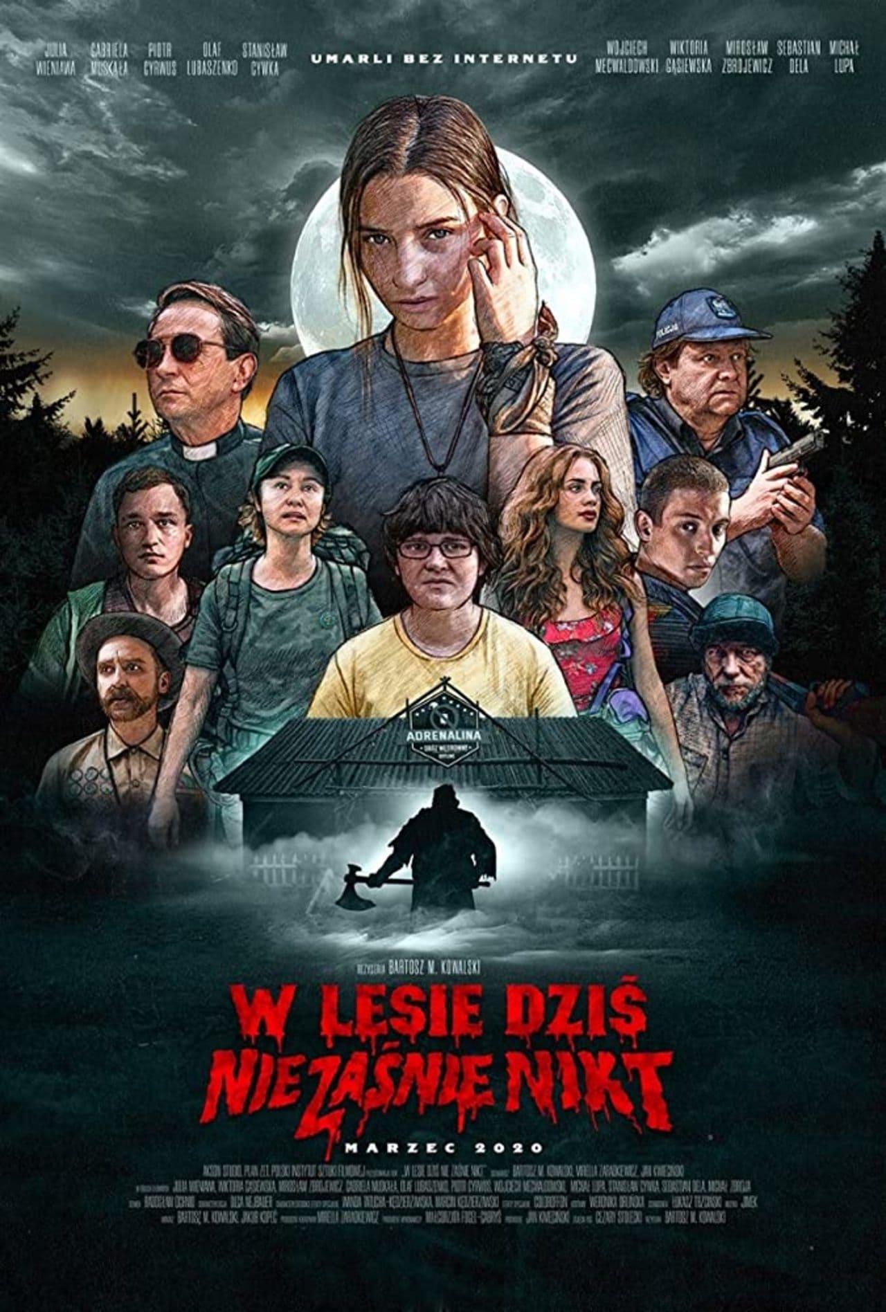 Cartel de la película Nadie duerme en el bosque esta noche (Netflix)