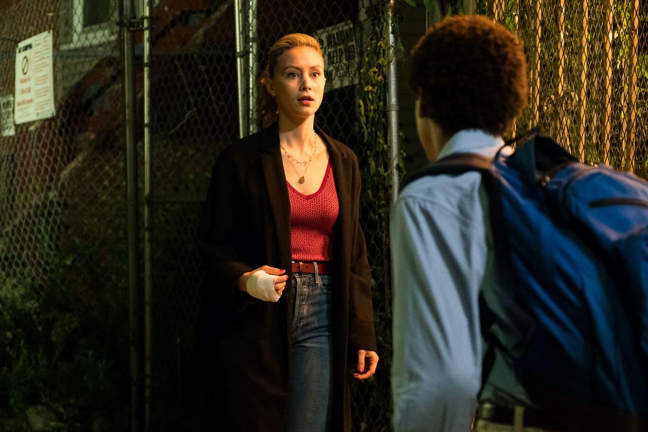Escena de la película Vampiros contra el Bronx de Netflix