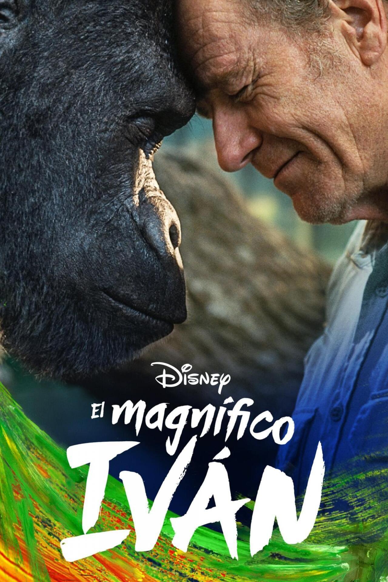 Cartel de la película El magnífico Iván de Disney +