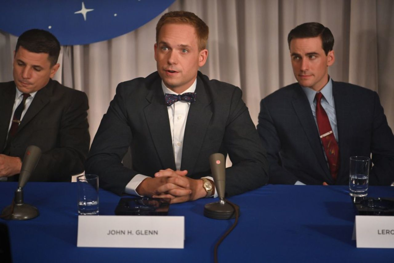 Colin O'Donoghue, Michael Trotter y Patrick J. Adams