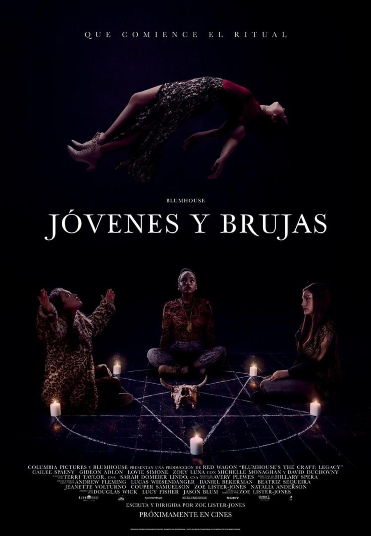 Cartel de la película Jóvenes y brujas 2020