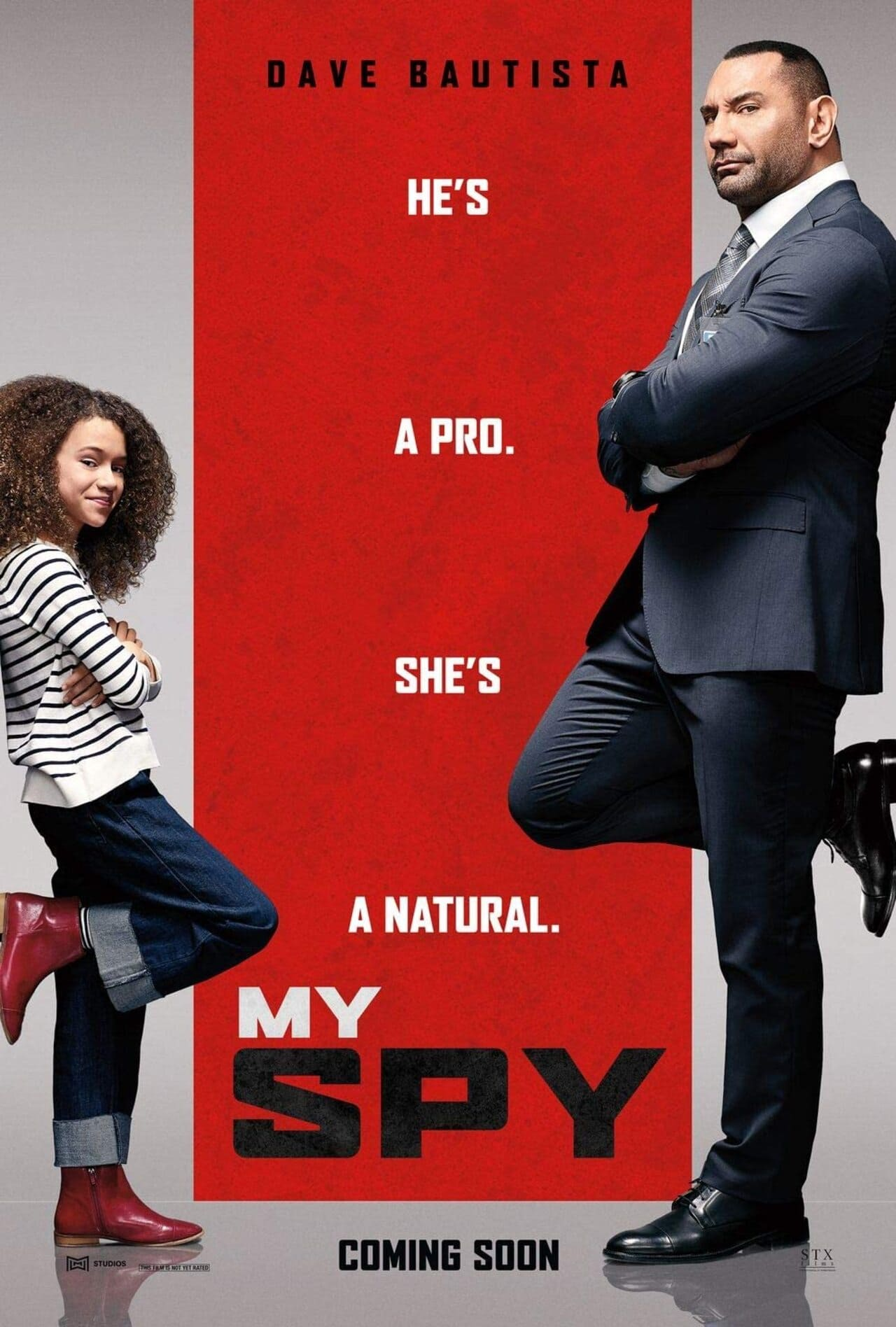 Cartel de la película Juego de espías (My Spy, 2020) de Amazon Prime Video