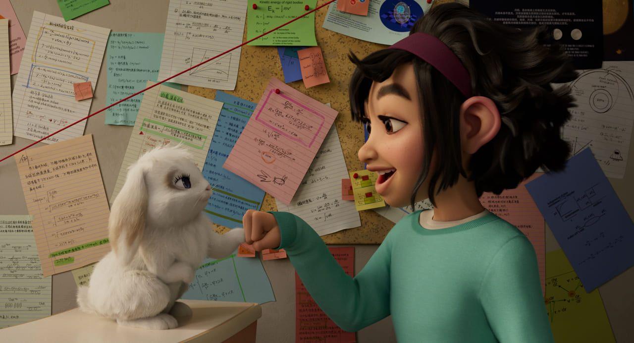 Fei Fei y su mascota