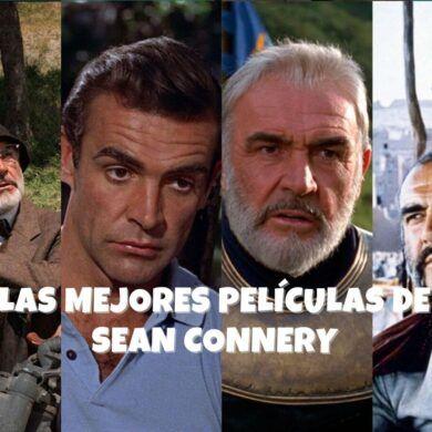 Las 5 mejores películas de Sean Connery