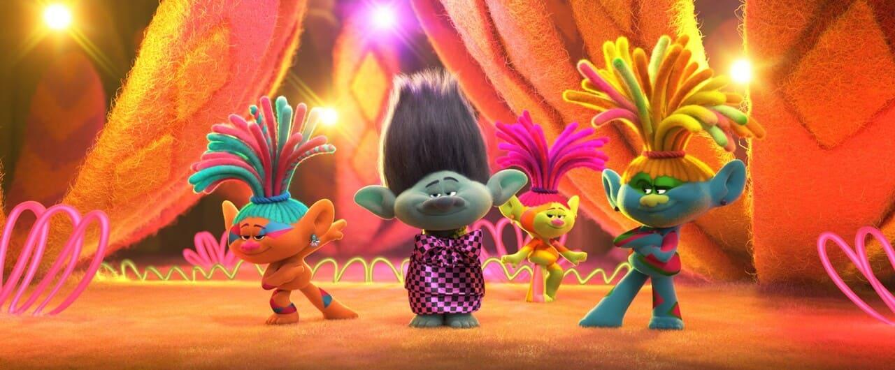 Escena de la película Trolls 2: Gira mundial