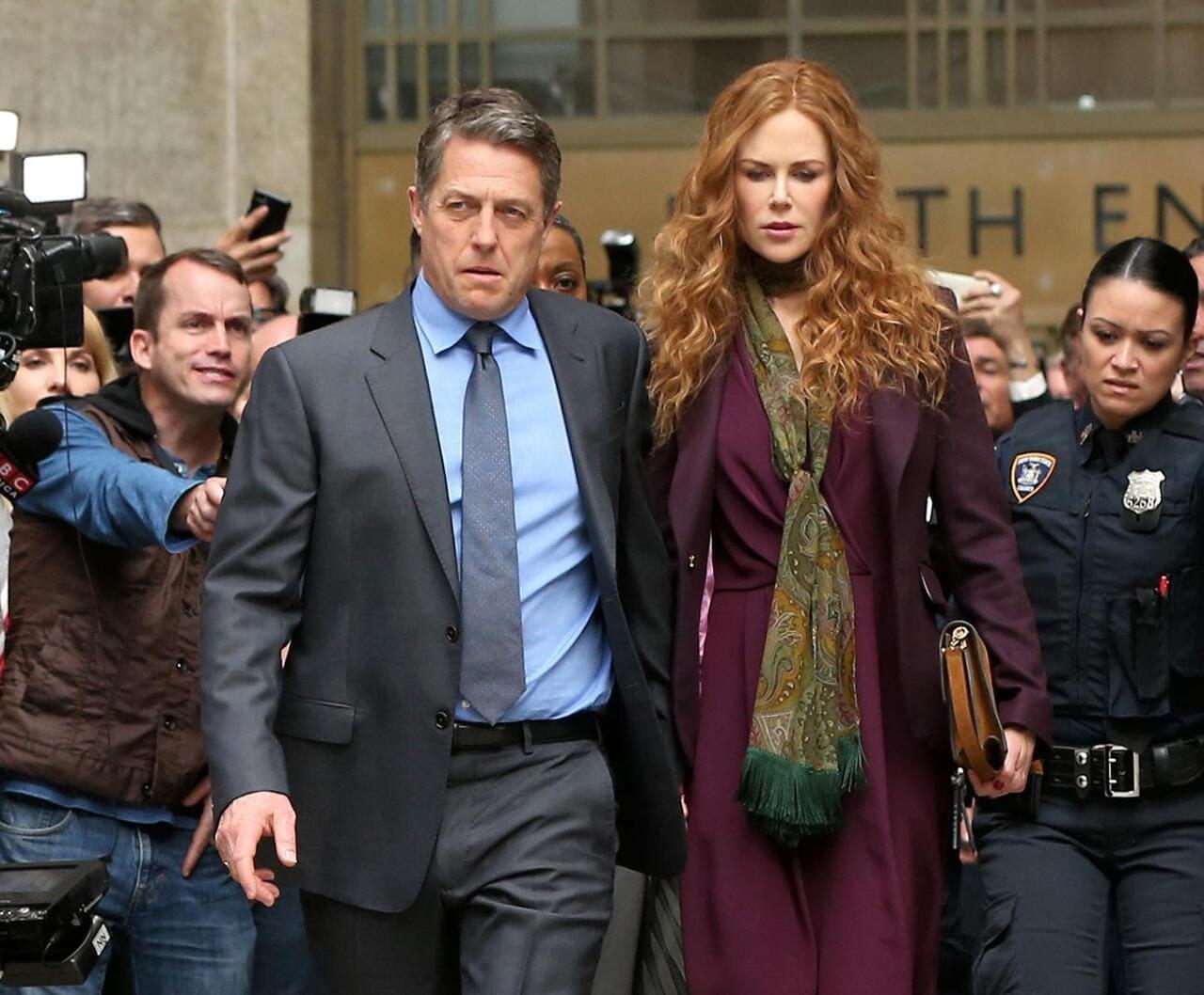 Escena de la serie The Undoing de HBO