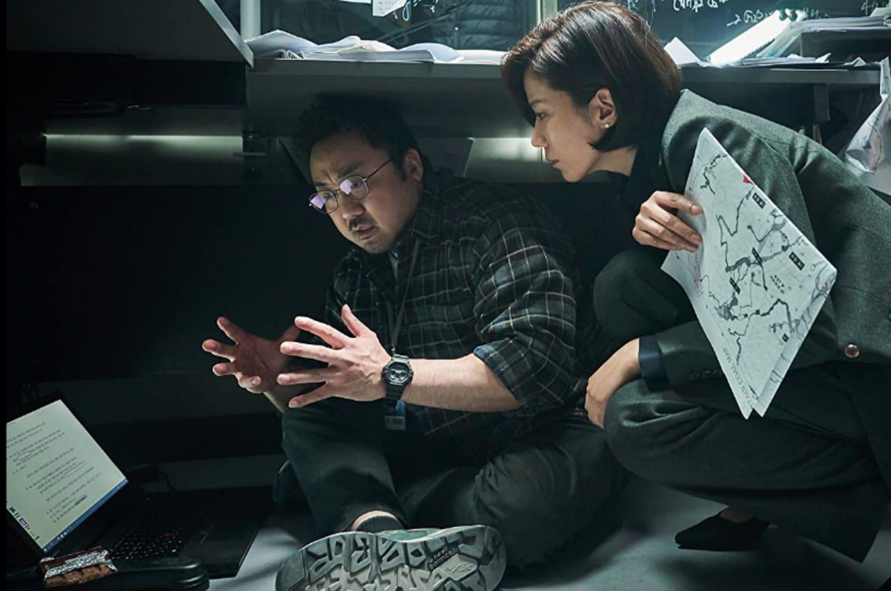 Jeon Hye-jin y Ma Dong-seok