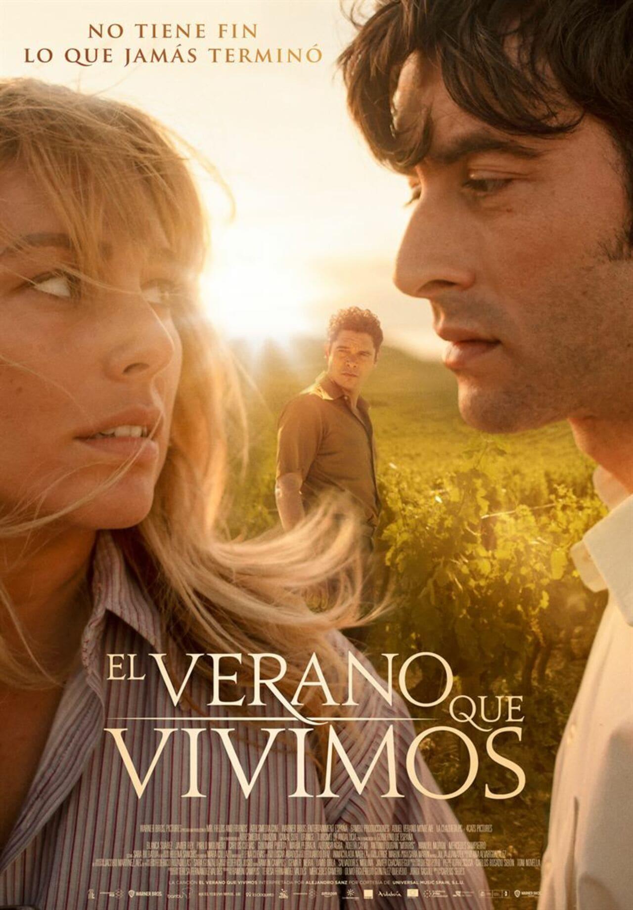 Cartel de la película El verano que vivimos