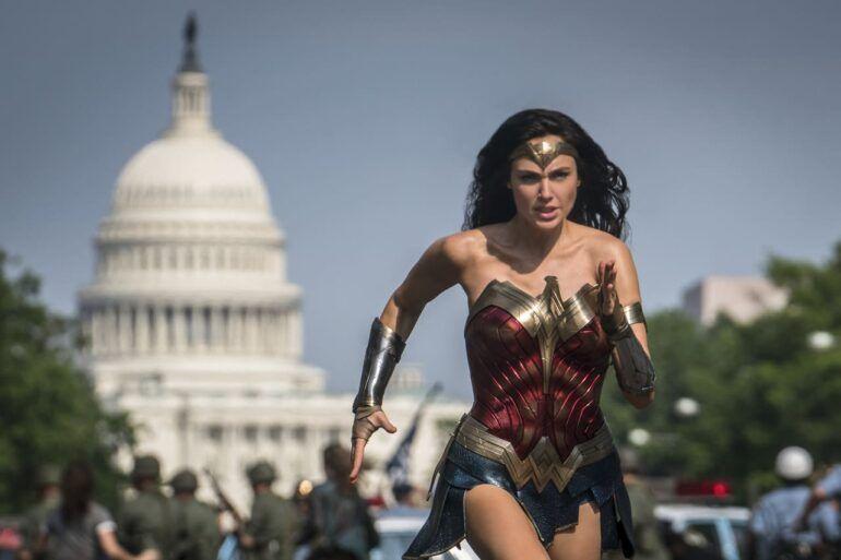 Wonder Woman 1984 con Gal Gadot